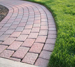 there are a wide range of walkway pavers available on the market today and they include - Paver Walkway Design Ideas