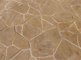 Stamped Concrete Flagstone Pattern